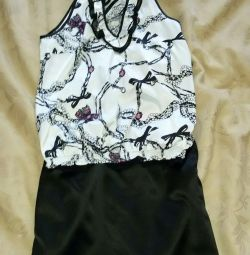 Skirt and blouse р.44-46