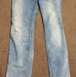 Jeans pentru fete înălțime 140