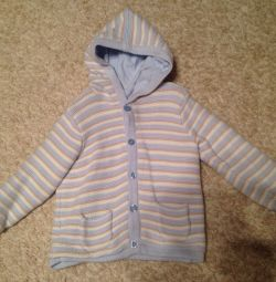 jacket warm, suitable for boy and girl
