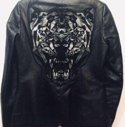 Philipp Plein 🔥Крутая кожаная куртка,оригинал🇮🇹