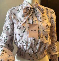 Куртка блузка Miu Miu Новая 42