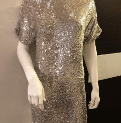 New Topshop dress beautiful sequins