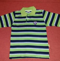 New polo with long sleeves, р.110-116