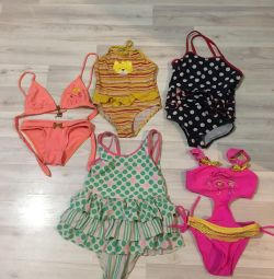 5 swimsuits per girl