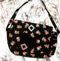 Anne için bebek arabası çantası