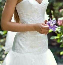 Rochie de mireasa franceza
