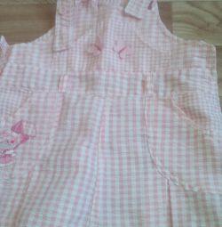 Сарафан,платья для малышки.