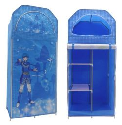 WALL FURNITURE HM250.05 BLUE 70Χ43Χ157 cm