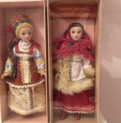 Decorative dolls and figurines