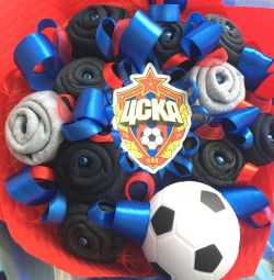 Buchet de șosete pentru fotbalistul de fotbal CSKA
