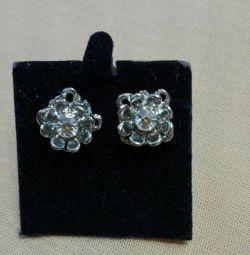 Carnation earrings