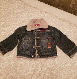 Used denim jacket