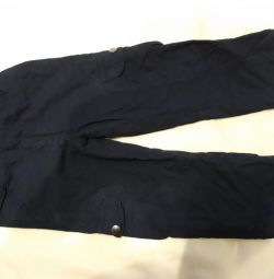Albastru șapte pantaloni copii