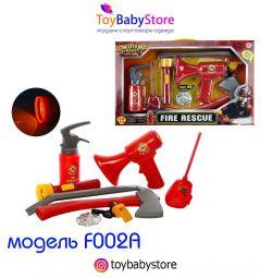 Игровой набор юного пожарного новый 8 предметов
