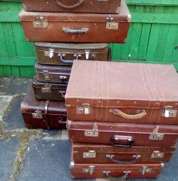 Suitcases 40-50s