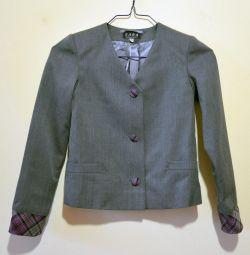 Geacă, uniformă școlară pentru fete, mărime 30