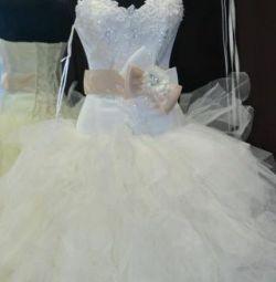 весільну сукню після чистки