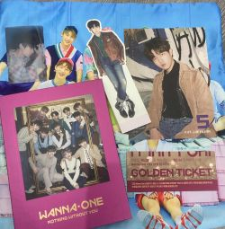 Wanna One Album Free Pillow cases