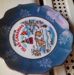 Plate decorative ISLAS CANARIAS