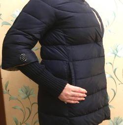 Down jacket blue 46-48