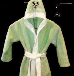 Children bathrobe