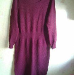 Πλεκτό φόρεμα 46-48 164-100-108 Χλ.