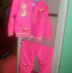 Windbreaker și pantaloni, 92-98