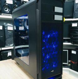 Стильный 8-и ядерный игровой системник GTX 1050 Ti