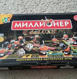 Millionaire De Luxe Board Game