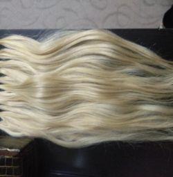Волосся для нарощування повного об'eма (125К) 40см