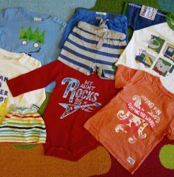 Лонгі / футболки 12-24м