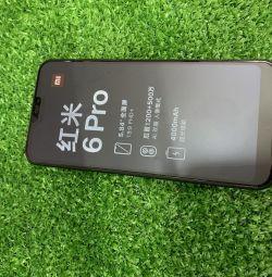 The new smartphone Xiaomi 6pro