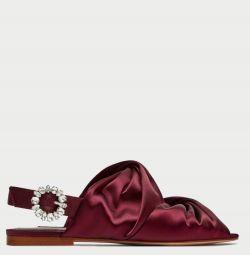 Богемные сандалии Zara как новые