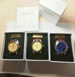 Подарочные часы с зажигалкой HONGFA HF808