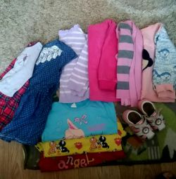 Things a package for a daughter (1.5 to 3.5 years) and (12-18 months)