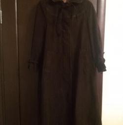 Coat of corduroy