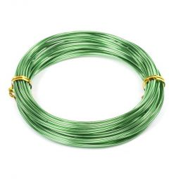 Sârma d de 1,5 mm. volan verde.10m