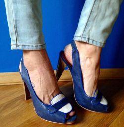 Yaz yüksek topuk ayakkabı 👠