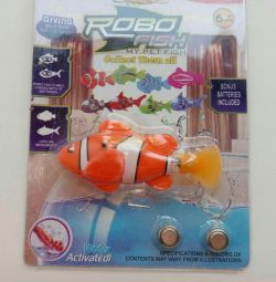 Robo-fisheye toy