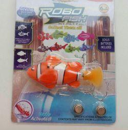 Robo-jucărie de pește de pește