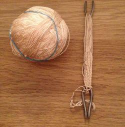 For weaving nets