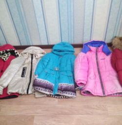 Jackets for girls 10-11 years old.