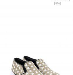 Pinko Sneakers Slip Σε Sequins Αρχικό