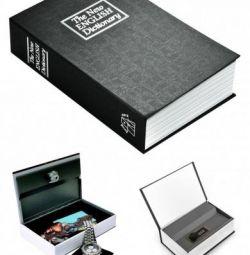 Kitap güvenli İngilizce sözlük 24 cm siyah