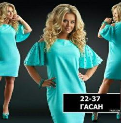 Rochie nouă în stoc 50,52, turcoaz și albastru