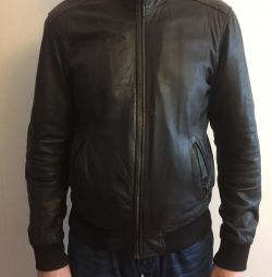 Leather jacket censured XL