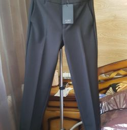 Trousers 7/8 with lace???