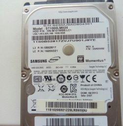 Жeсткий диск для ноутбука на 1 Tb Sata
