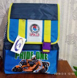 School bags new.