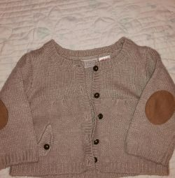 Tricou pentru copii tricotat Zara 78 cm